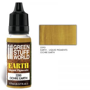Green Stuff World   Liquid Pigments Liquid Pigments OCHRE EARTH - 8436574506525ES - 8436574506525