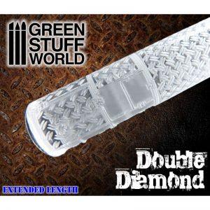 Green Stuff World   Rolling Pins Rolling Pin DOUBLE DIAMOND - 8436554361649ES - 8436554361649