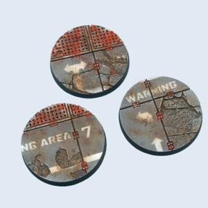 Micro Art Studio   Warehouse Bases Warehouse Bases, Round 50mm (2) - B03831 - 5900232360178