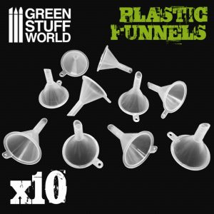 Green Stuff World   Green Stuff World Tools Plastic Funnels - 8436574505559ES - 8436574505559