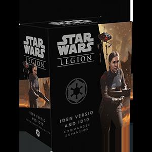Fantasy Flight Games Star Wars: Legion  The Galactic Empire - Legion Star Wars Legion: Iden Versio and ID10 Commander - FFGSWL60 - 841333110024
