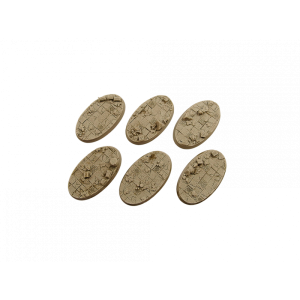 Micro Art Studio   Ancient Bases Ancient Bases, Oval 60mm (4) - B03160 - 5900232357062