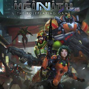 Modiphius Infinity RPG  Infinity RPG Infinity RPG: Yu Jing Supplement - MUH050226 - 9781912200504