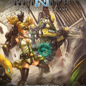 Modiphius Infinity RPG  Infinity RPG Infinity RPG Quantronic Heat - MUH050208 - 9781912200542