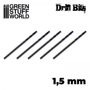 Green Stuff World   Green Stuff World Tools Drill bit in 1,5 mm - 8436554365463ES - 8436554365463
