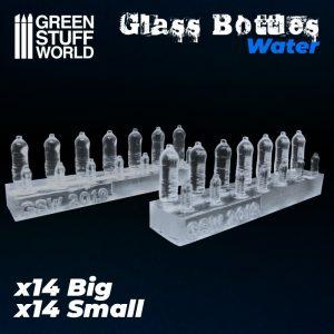Green Stuff World   Green Stuff World Conversion Parts Water Bottles resin set - 8436574505580ES - 8436574505580
