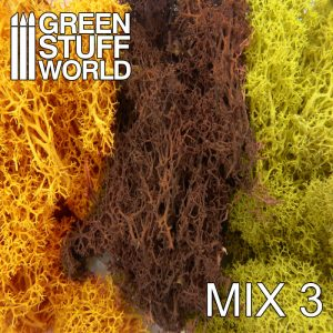 Green Stuff World   Lichen & Foliage Islandmoss - Yellow and Brown Mix - 8436554368266ES - 8436554368266