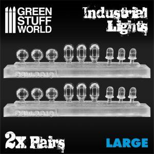 Green Stuff World   Lighting & LEDs 18x Resin Industrial Lights - Large - 8436574504804ES - 8436574504804