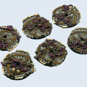 Micro Art Studio   Dark Temple Bases Dark Temple Bases, Flying 30mm (3) - B02227 - 5900232356430