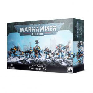 Games Workshop Warhammer 40,000  Space Wolves Space Wolves Pack / Grey Hunters - 99120101347 - 5011921149179
