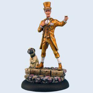 Micro Art Studio   Discworld Miniatures Discworld Moist Making Money (1) - D04600 - 5900232352470