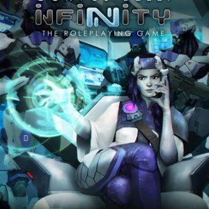 Modiphius Infinity RPG  Infinity RPG Infinity RPG: Aleph Supplement - MUH050225 - 9781912200337