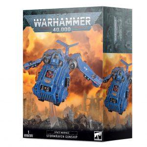 Games Workshop Warhammer 40,000  Blood Angels Stormraven Gunship - 99120101339 - 5011921146000
