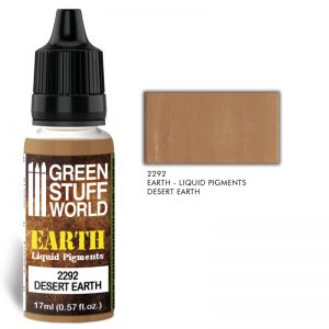 Green Stuff World   Liquid Pigments Liquid Pigments DESERT EARTH - 8436574506518ES - 8436574506518