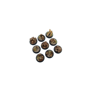 Micro Art Studio   Troglodyte Bases Troglodyte Bases, Wround 30mm (5) - B04441 - 5900232360123