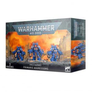 Games Workshop Warhammer 40,000  Space Marines Space Marines Primaris Aggressors - 99120101306 - 5011921142293