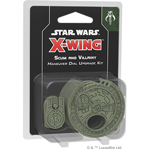 Fantasy Flight Games Star Wars: X-Wing  Scum & Villainy - X-wing Star Wars X-Wing: Scum and Villainy Maneuver Dials - FFGSWZ11 - 841333105686