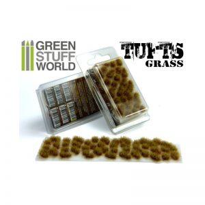 Green Stuff World   Tufts Grass TUFTS - 6mm self-adhesive - DRY BROWN - 8436554362486ES - 8436554362486