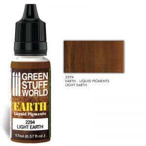 Green Stuff World   Liquid Pigments Liquid Pigments LIGHT EARTH - 8436574506532ES - 8436574506532