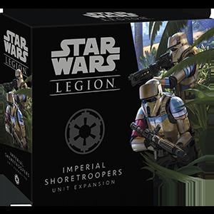Fantasy Flight Games Star Wars: Legion  The Galactic Empire - Legion Star Wars Legion: Imperial Shoretroopers - FFGSWL41 - 841333107741