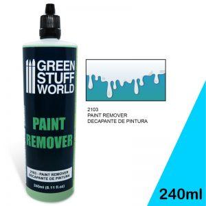 Green Stuff World   Specialist Paints Paint Remover 240ml - 8436574504620ES - 8436574504620