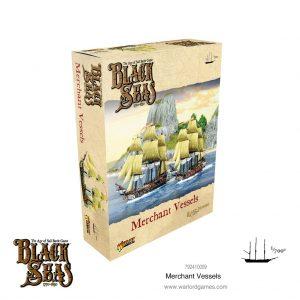 Warlord Games Black Seas  Black Seas Black Seas: Merchant Vessels - 792410009 - 5060572505377