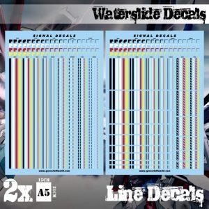Green Stuff World   Decals Waterslide Decals - Lines - 8436574507201ES - 8436574507201