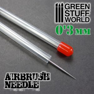 Green Stuff World   Airbrushes & Accessories Airbrush Needle 0.3mm - 8436554369317ES - 8436554369317
