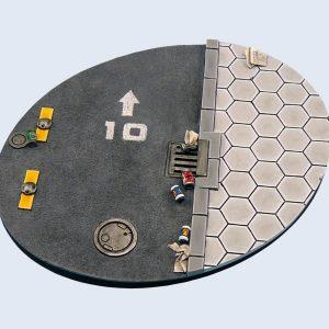 Micro Art Studio   Urban Bases Urban Bases, Oval 120mm (1) - B03226 - 5900232355839
