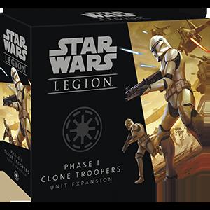 Fantasy Flight Games Star Wars: Legion  The Galactic Republic - Legion Star Wars Legion: Phase I Clone Troopers - FFGSWL47 - 841333109233