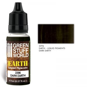 Green Stuff World   Liquid Pigments Liquid Pigments DARK EARTH - 8436574506556ES - 8436574506556