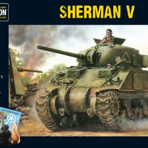 Warlord Games Bolt Action  Great Britain (BA) Sherman V Medium Tank - 402011004 - 5060393700586