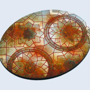 Micro Art Studio   Mosaic Bases Mosaic Bases, Oval 120mm (1) - B01126 - 5900232359011