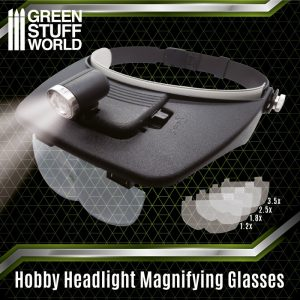 Green Stuff World   Green Stuff World Tools Light Head Magnifying Glasses - 8436574507447ES - 8436574507447