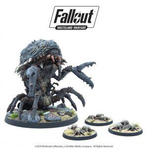 Modiphius Fallout: Wasteland Warfare  Fallout: Wasteland Warfare Fallout: Wasteland Warfare - Creatures: Mirelurk Queen - MUH052005 - 5060523342778
