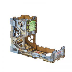 Q-Workshop   Dice Accessories Color Tech Dice Tower - TTEC102 - 5907699492954