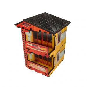 Micro Art Studio   Micro Art Studios Terrain Kokkyo 3 - Quarters PREPAINTED (Yellow) - H00089-Yellow - 5907652560881Y
