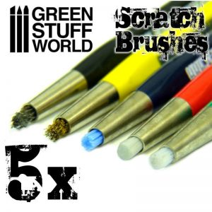 Green Stuff World   Green Stuff World Tools Scratch Brush Pens - 8436574500097ES - 8436574500097