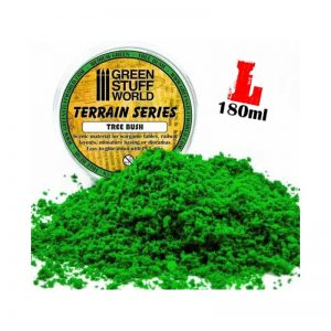 Green Stuff World   Lichen & Foliage Tree Bush Clump Foliage - Medium Green - 180 ml - 8436554365739ES - 8436554365739