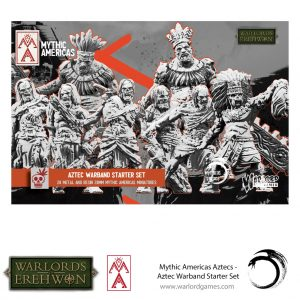 Warlord Games Warlord of Erehwon  Warlords of Erehwon Aztec Warband Starter Set - 722211001 - 5060572508613