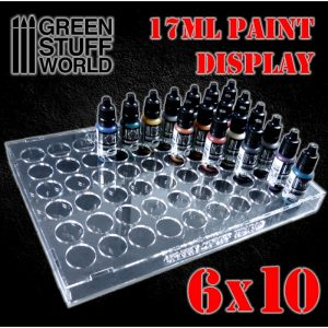 Green Stuff World   Paint Racks Paint Display 17ml (6x10) - 8436574503807ES - 8436574503807