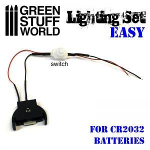 Green Stuff World   Lighting & LEDs LED Lighting Kit with Switch - 8436554369720ES - 8436554369720