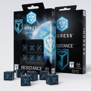 Q-Workshop   Q-Workshop Dice Ingress Resistance 6D6 Dice (6) - 66IRE67 - 5907699492794