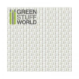 Green Stuff World   Plasticard ABS Plasticard - OFFSET RECTANGLE Small - 8436554363209ES - 8436554363209