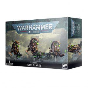 Games Workshop Warhammer 40,000  Necrons Necron Tomb Blades - 99120110059 - 5011921139149