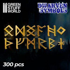 Green Stuff World   Etched Brass Etched Brass Dwarven Runes and Symbols - 8436574505344ES - 8436574505344