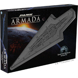 Fantasy Flight Games Star Wars: Armada  The Galactic Empire - Armada Star Wars Armada: Super Star Destroyer - FFGSWM20 - 841333106126