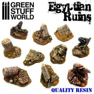 Green Stuff World   Green Stuff World Conversion Parts Egyptian Ruins - 8436554369041ES - 8436554369041
