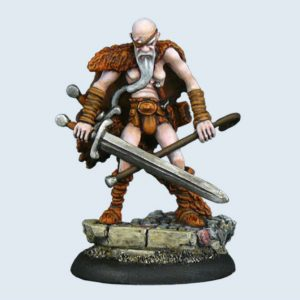 Micro Art Studio   Discworld Miniatures Discworld Cohen the Barbarian (1) - D01000 - 5900232352104