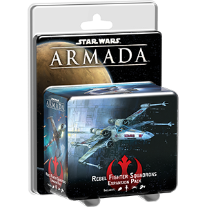 Fantasy Flight Games Star Wars: Armada  The Rebel Alliance - Armada Star Wars Armada Rebel Fighter Pack - FFGSWM07 - 9781616619992